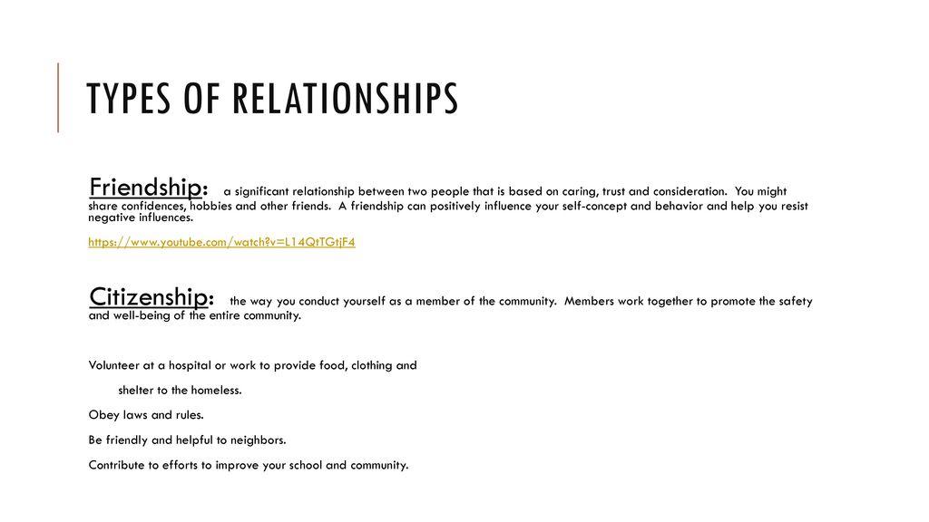 Skills for HEALTHY RELATIONSHIPS - ppt download