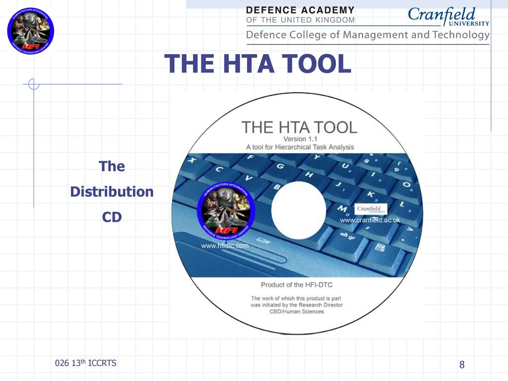 Analysis and Planning Using THE HTA TOOL - ppt download