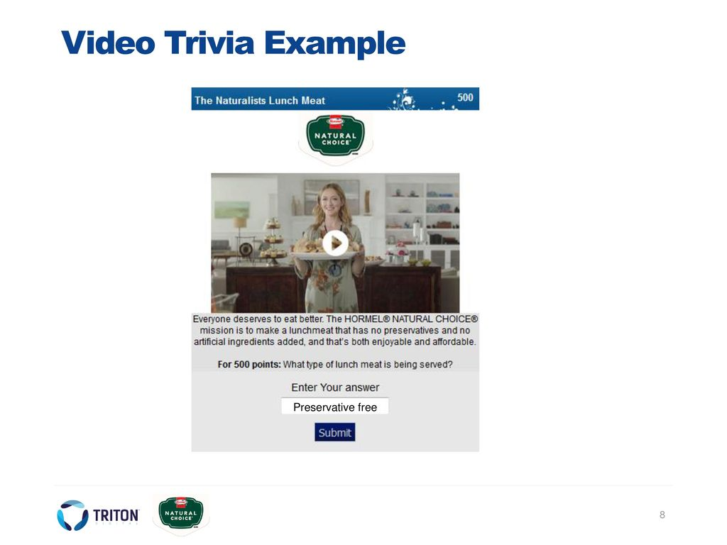 Presented to: Hormel Natural Choice - ppt download