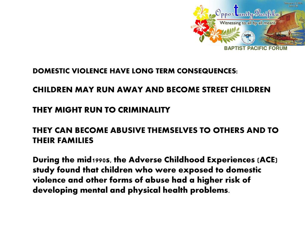 consequences of street children