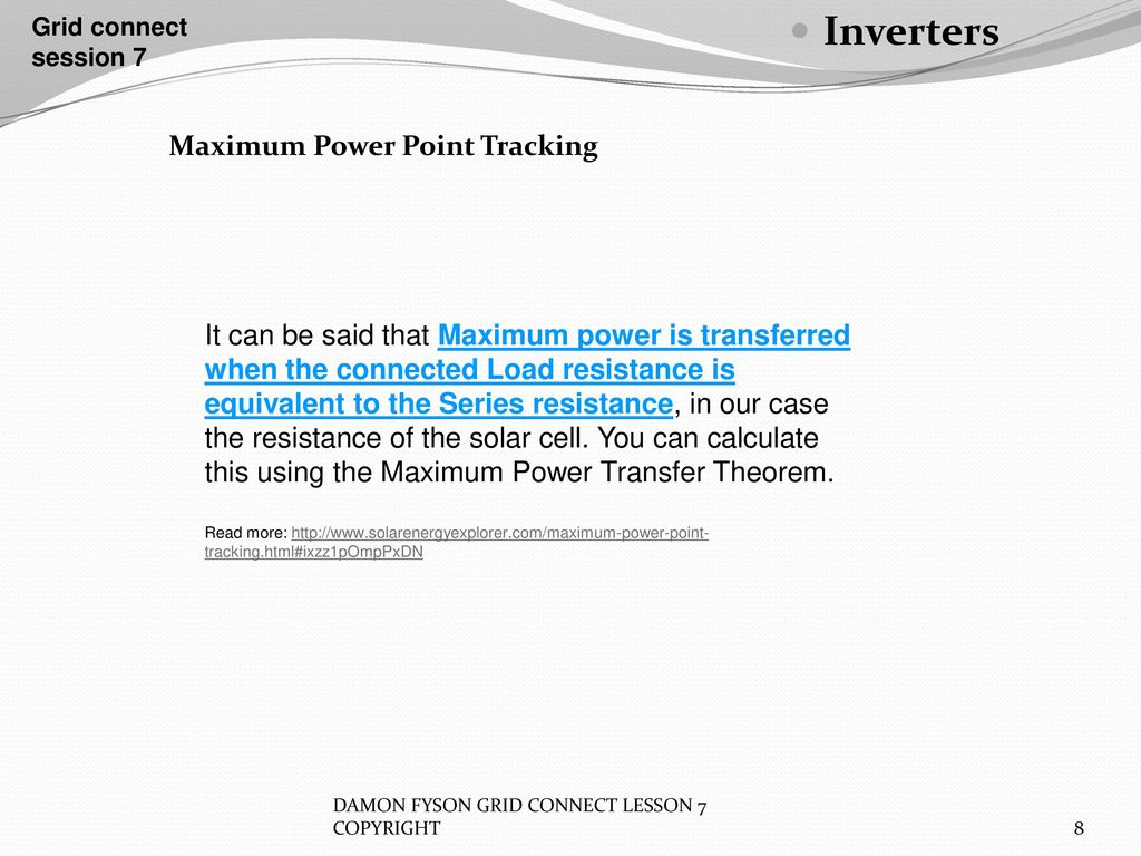 Inverters Grid Connect Session 7 Ppt Download Modifying Square Wave To Sine Equivalents 8