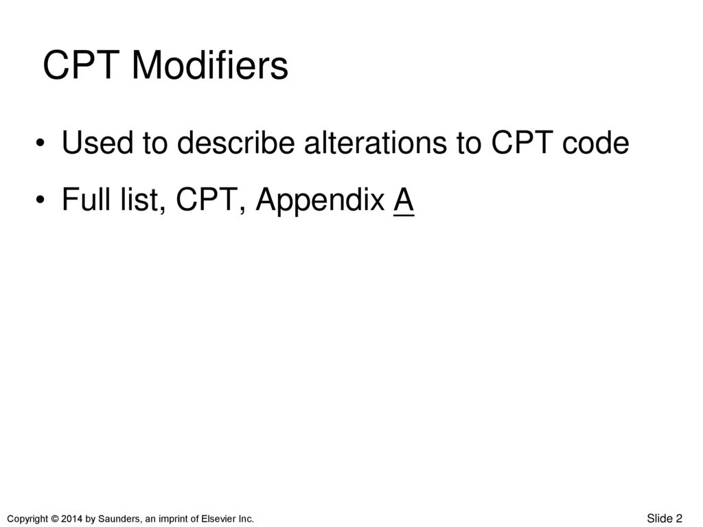 CHAPTER 14 MODIFIERS ppt download