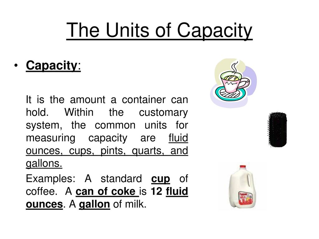 customary and metric units of measurement - ppt download