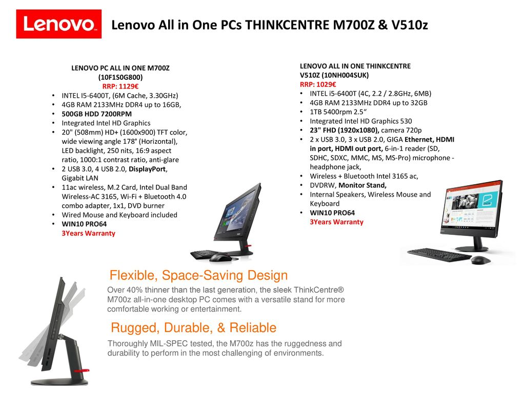 Lenovo Business PCs & All in one PCs Retail File 15 June ppt