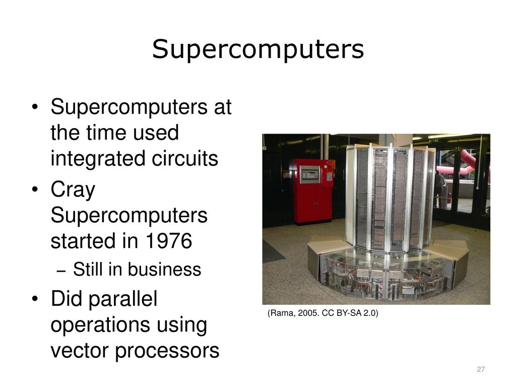 Introduction To Computer Science Ppt Download Uses Of Integrated Circuits Supercomputers At The Time Used