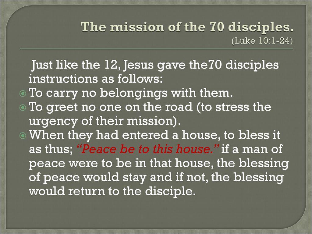Kuvahaun tulos haulle Luke 10:1