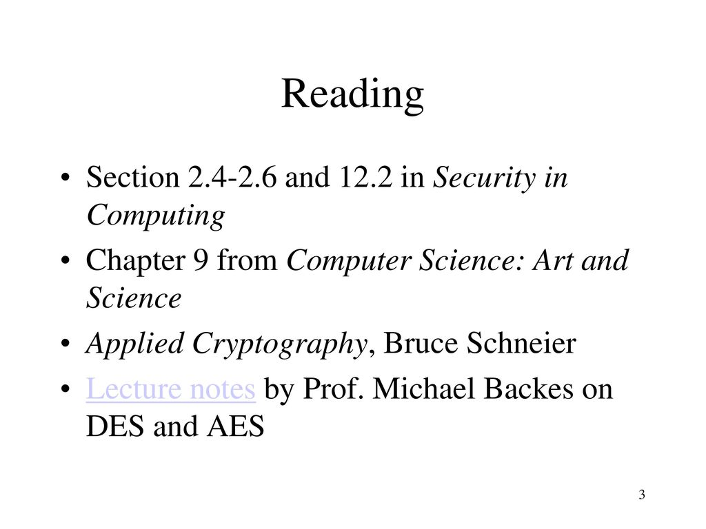 Symmetric Cryptography Ppt Download