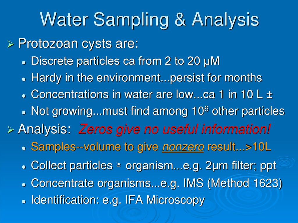 Waterborne Protozoan Diseases--Facts & Trends - ppt download