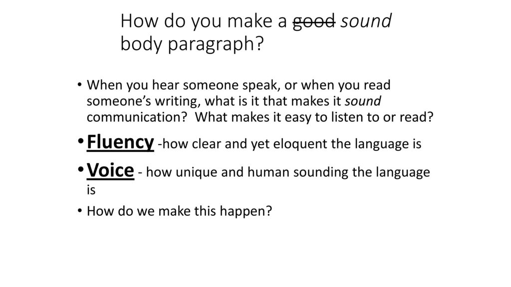what is sound body