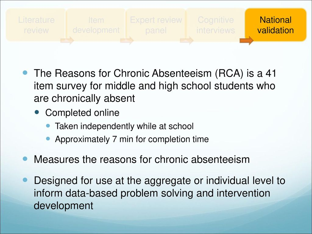 review of related literature about absenteeism in school