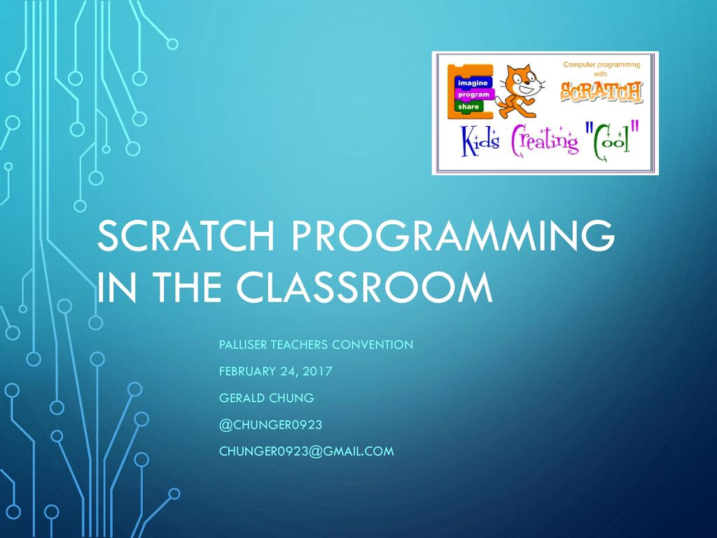 Scratch Programming in the Classroom - ppt download