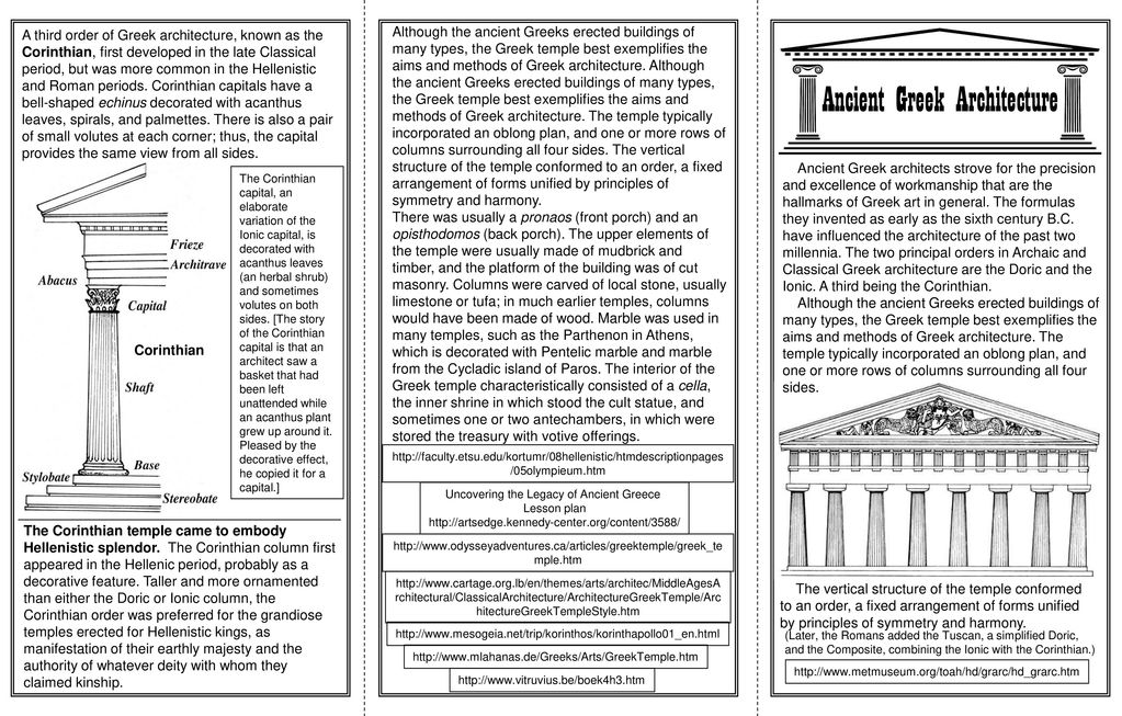 ancient greek architecture ppt download