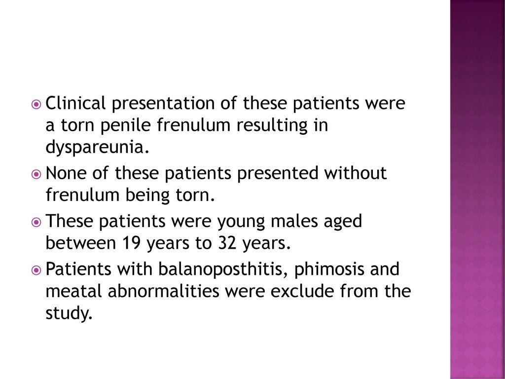 frenulum operation