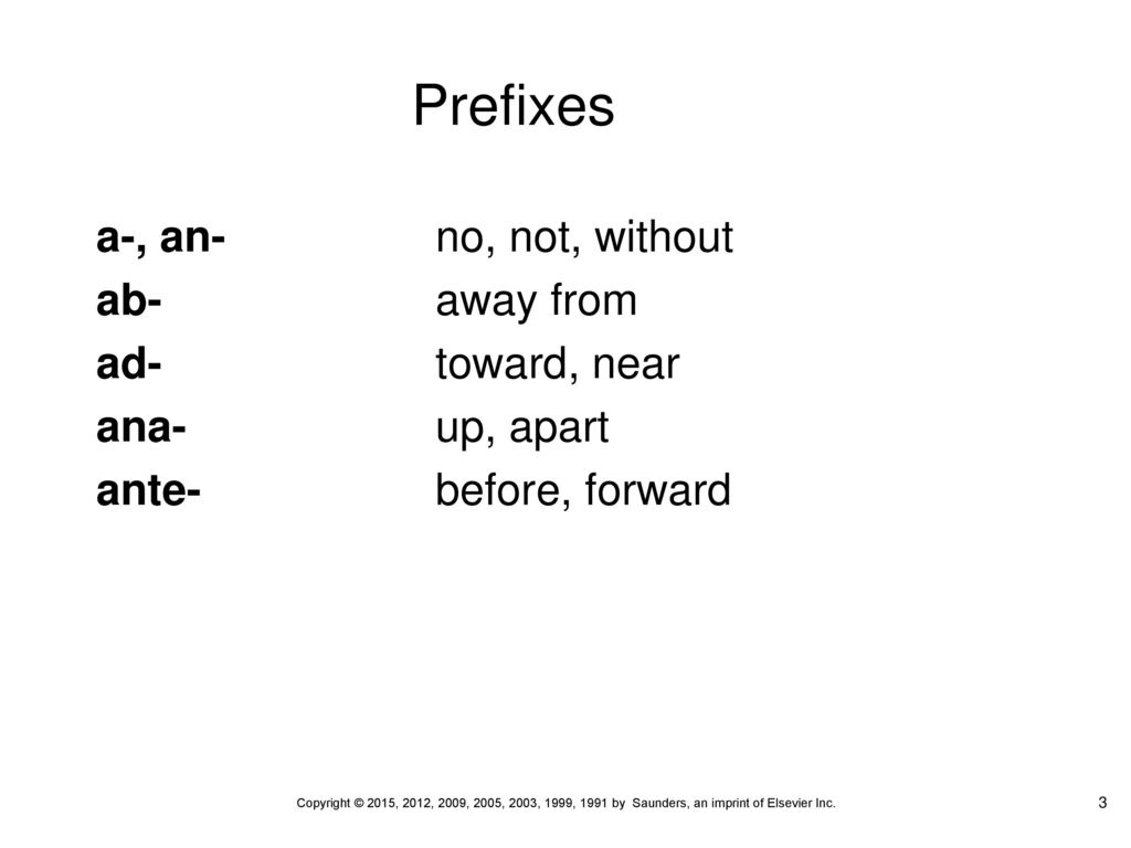 Prefixes Chapter ppt download