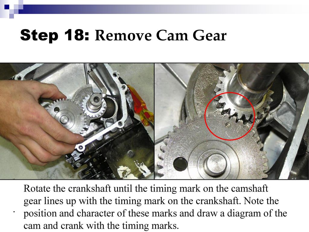 Small Engine Disassembly - ppt download