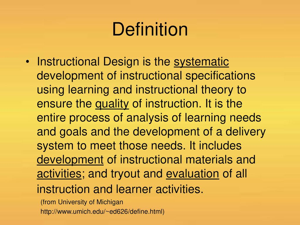 Instructional Design Ppt Download