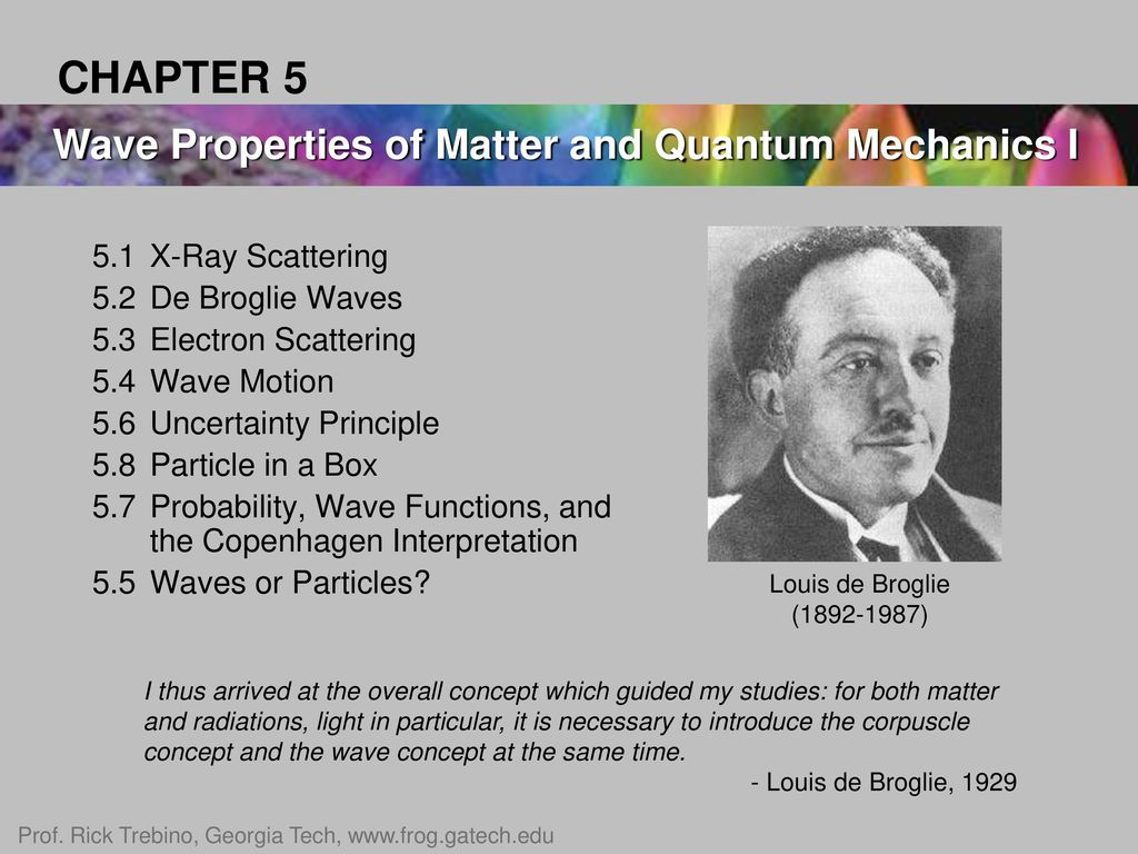 louis de broglie quotes