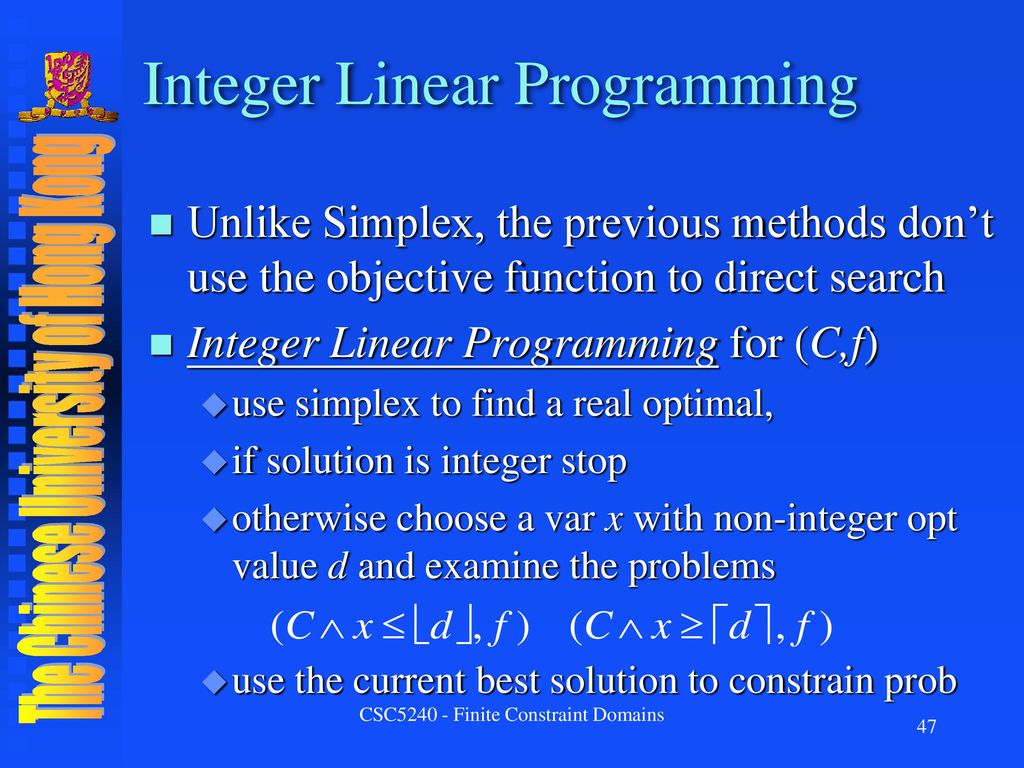 mothers novelty cakes using linear programming essay Integer programming can be considered as part of lpm or linear programming models lpms seek to minimize or maximize the variable which is subjected to integer programs for managerial analysis under conditions of uncertainty must be used with great care the difficulty of performing systematic.