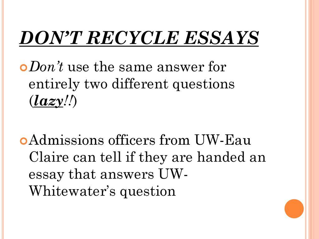 Uw lacrosse essay prompts