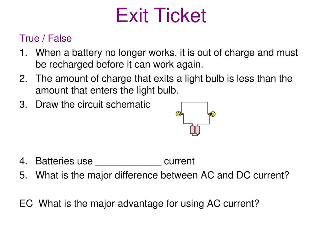 Circuits Ppt Download Light Bulb Schematic 20 Exit