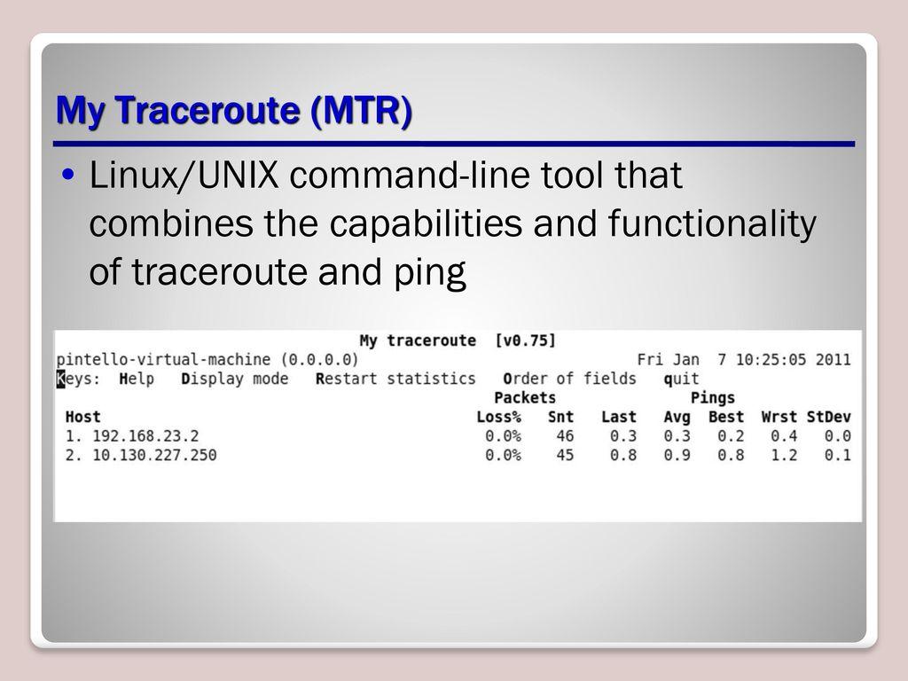 Mtr tool