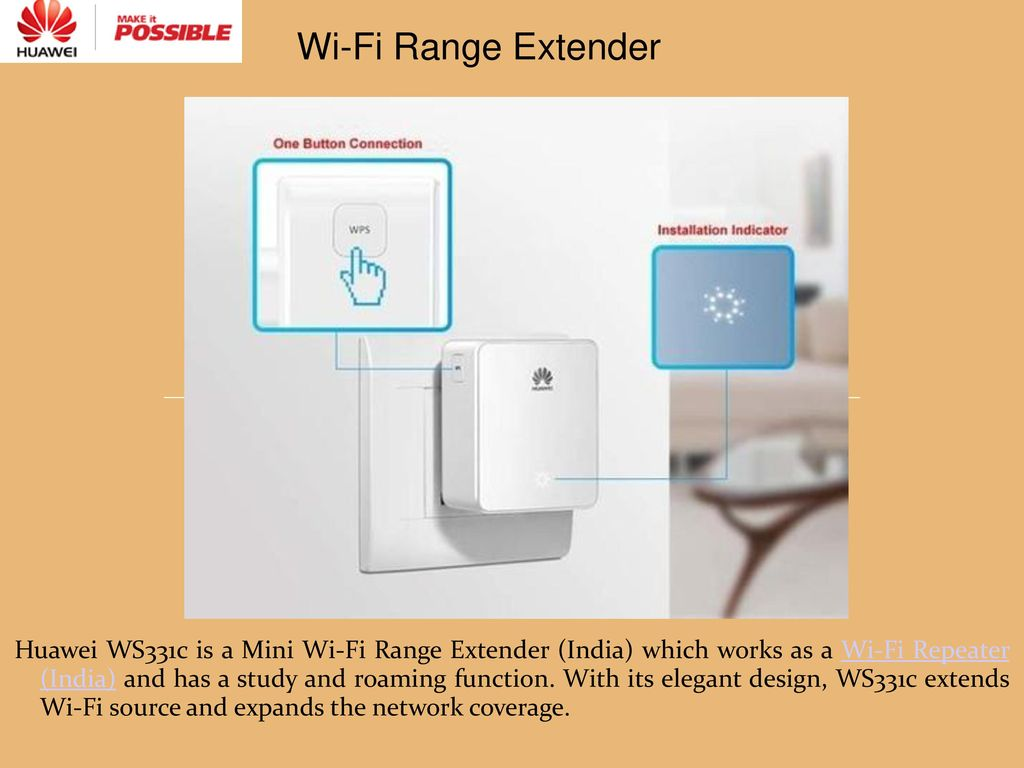 A Smart Mini Wi-Fi Range Extender - ppt download