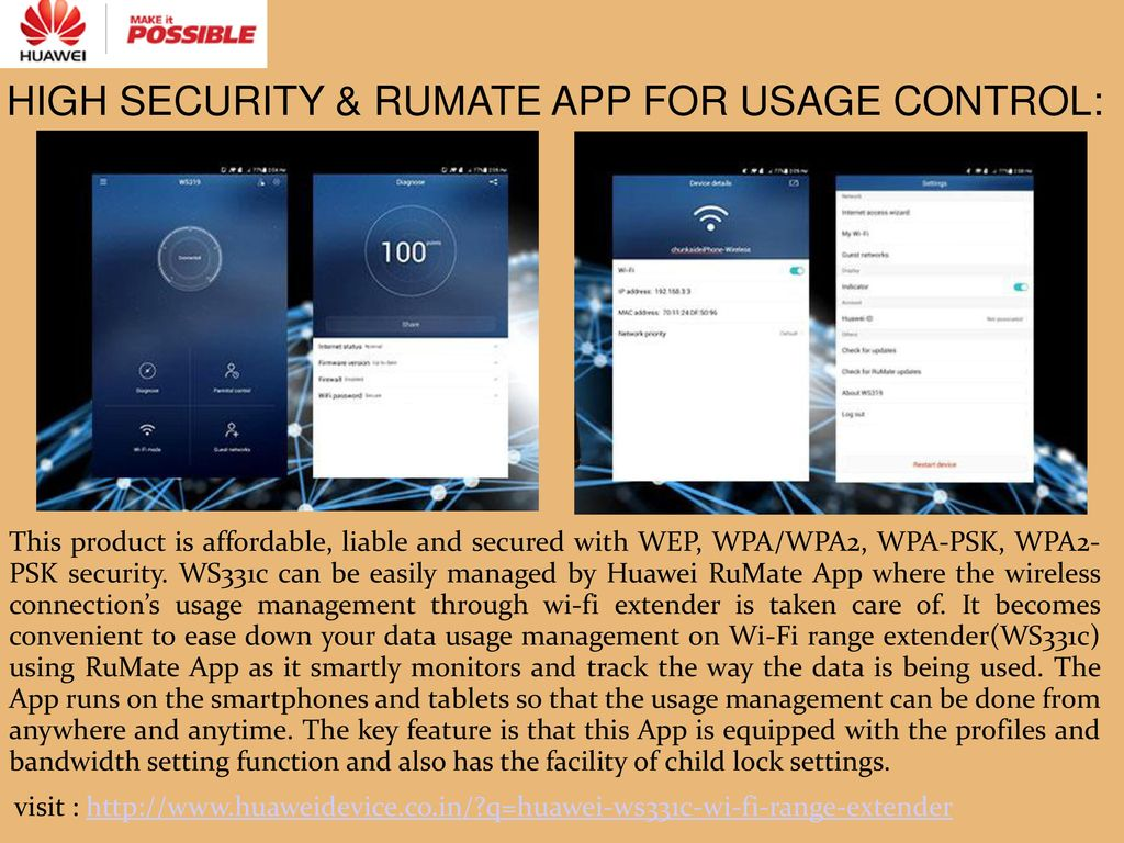 A Smart Mini Wi Fi Range Extender Ppt Download Huawei Wireless Ws331c 7 High