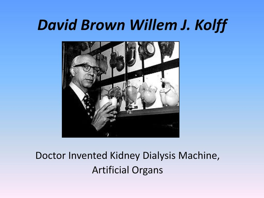 David Brown Willem J Kolff Ppt Download Invention Story Of Electrocardiography Ecg By Einthoven