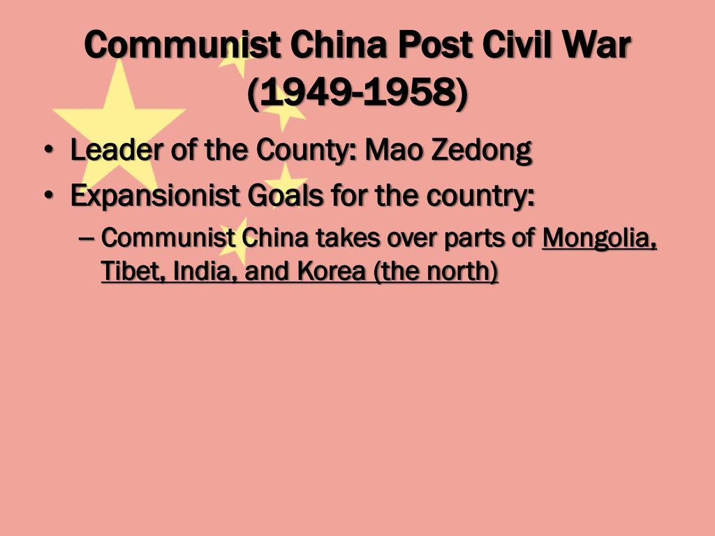 Image result for Chairman Mao Zedong's expansionist doctrine