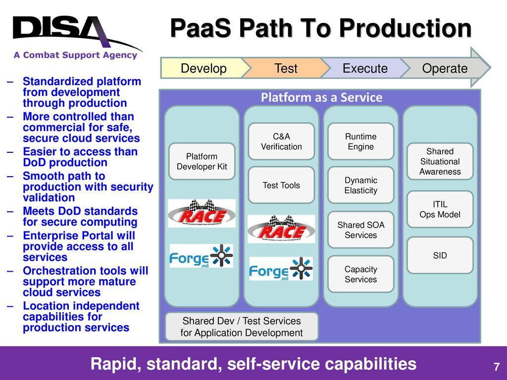 DISA's Transformation to a Platform Service Provider - ppt download