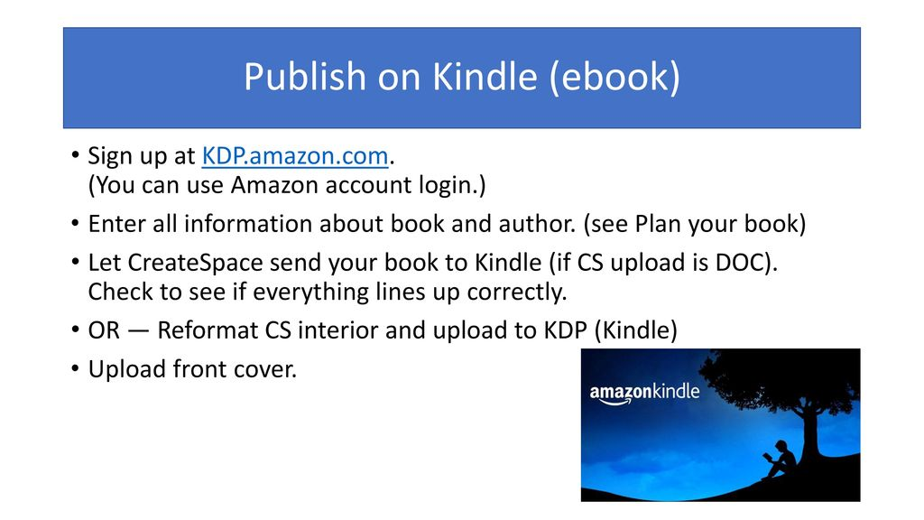Steps to Self-Publishing - ppt download