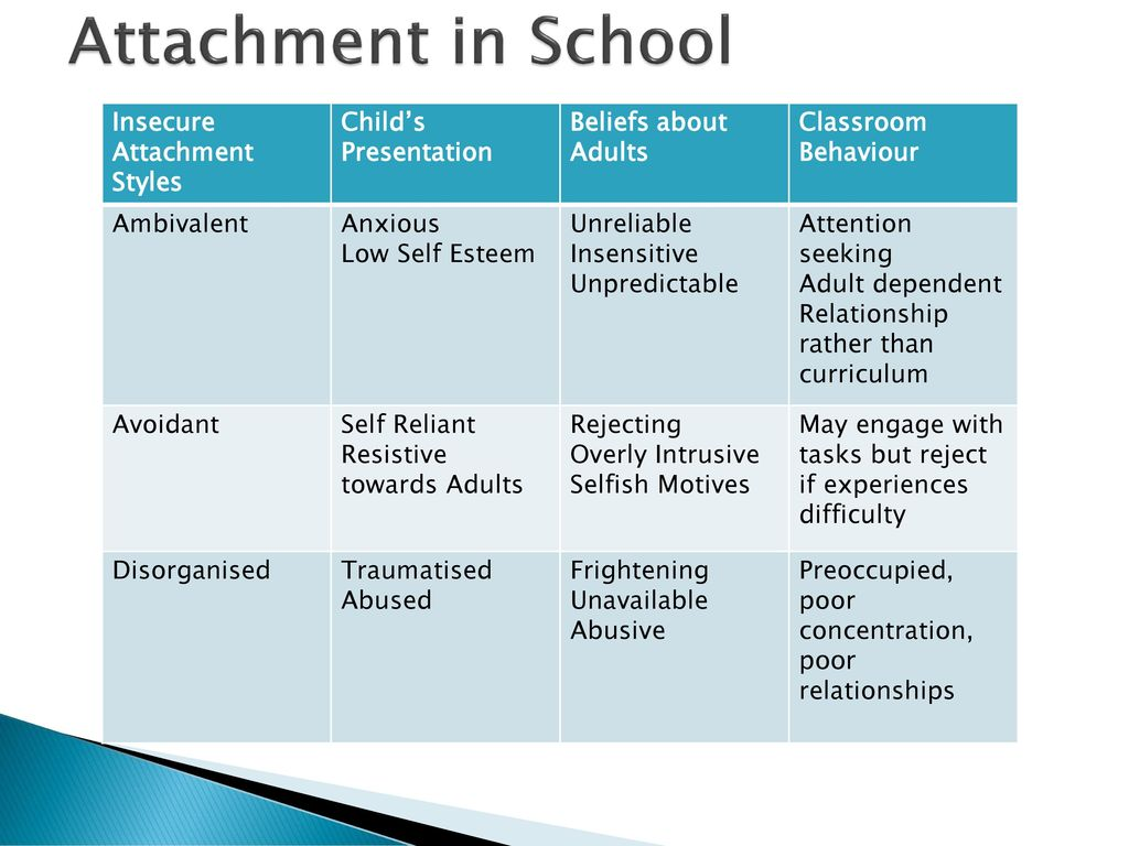 ATTACHMENT AND COURT WORK AS AN EP - ppt download