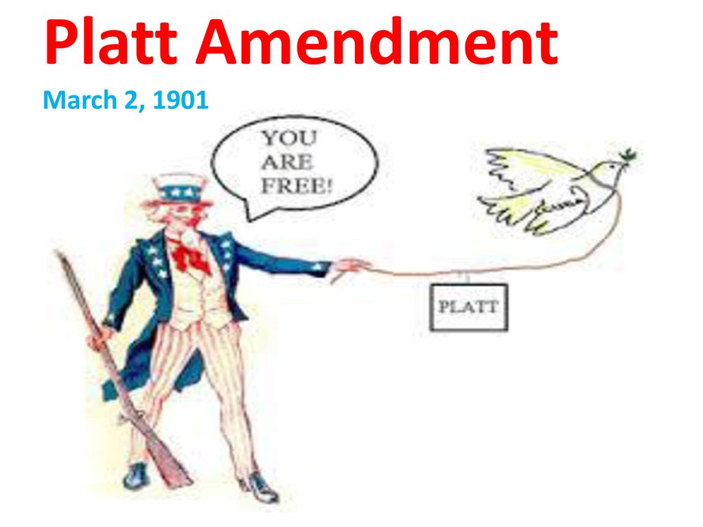 what was the purpose of the platt amendment