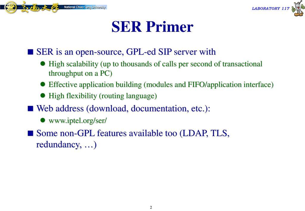 SIP Express Router (SER) - ppt download