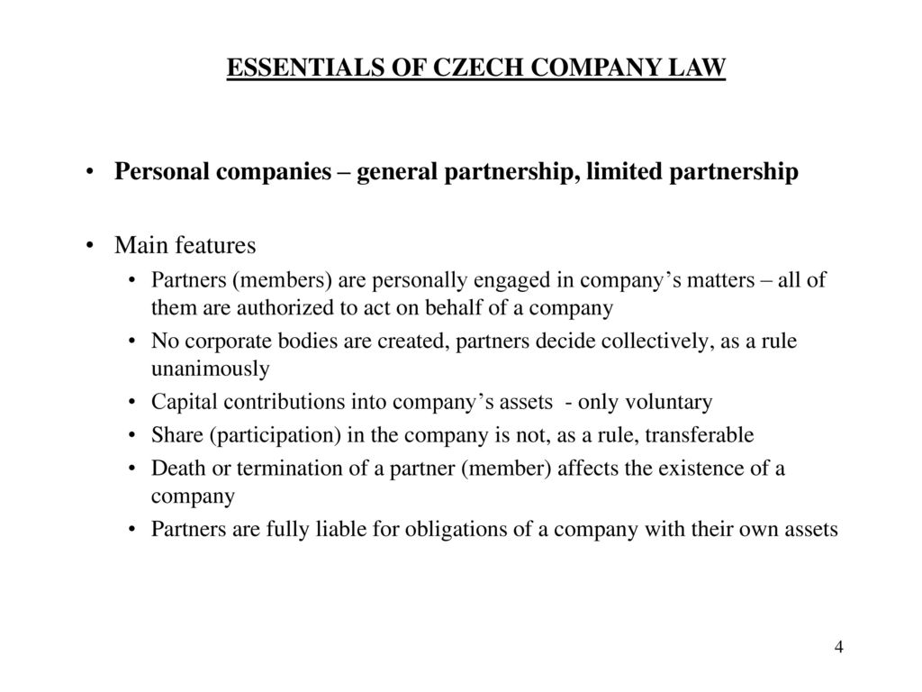 business companies general definition - ppt download