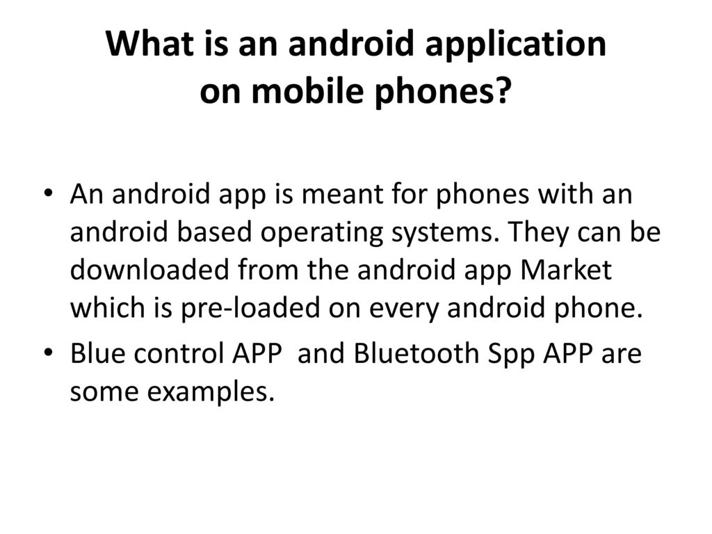 Android Based Remote Programmable Sequential Ppt Download Image Darlington Pair Amplifier Circuit Pc Iphone What Is An Application On Mobile Phones