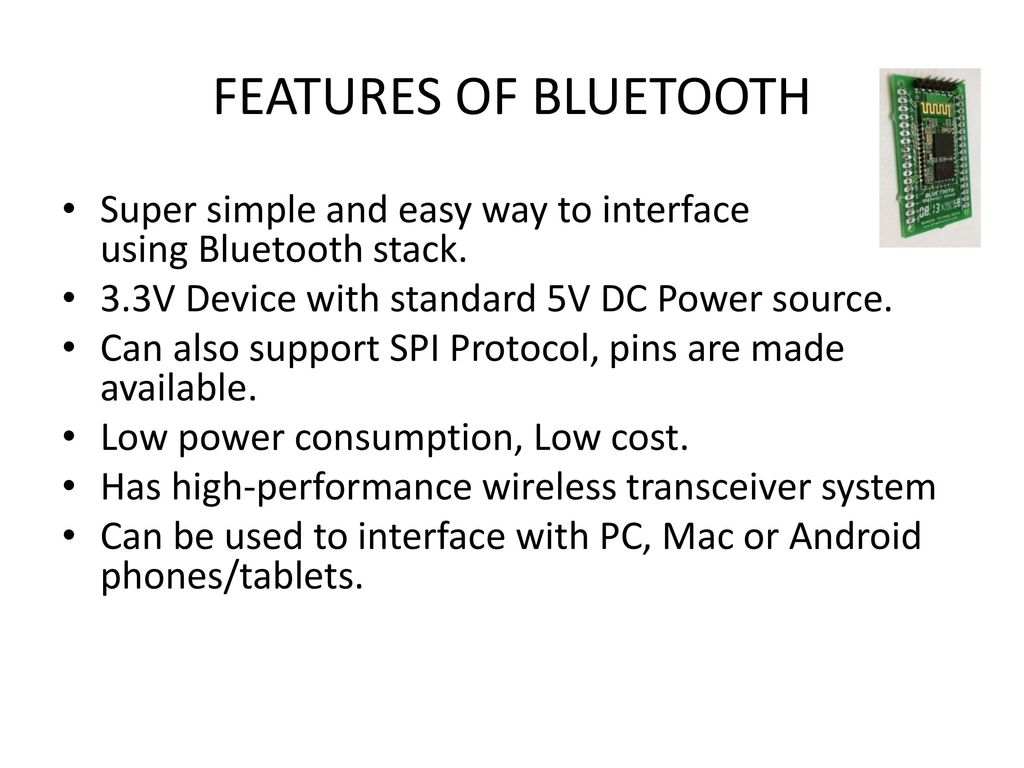 Android Based Remote Programmable Sequential Ppt Download Image Darlington Pair Amplifier Circuit Pc Iphone 20 Features