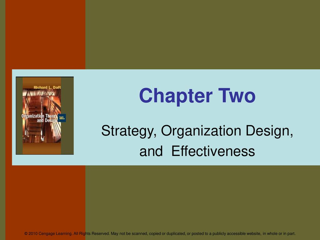 Strategy Organization Design And Effectiveness Ppt Download
