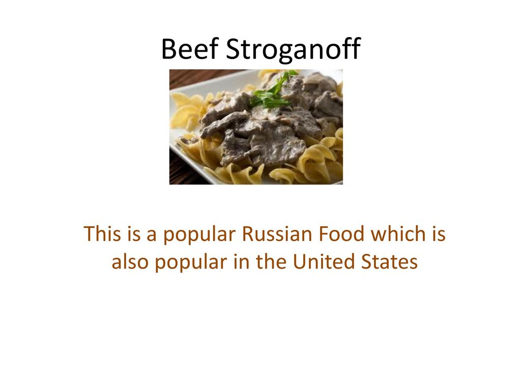Russian Food Ppt Download