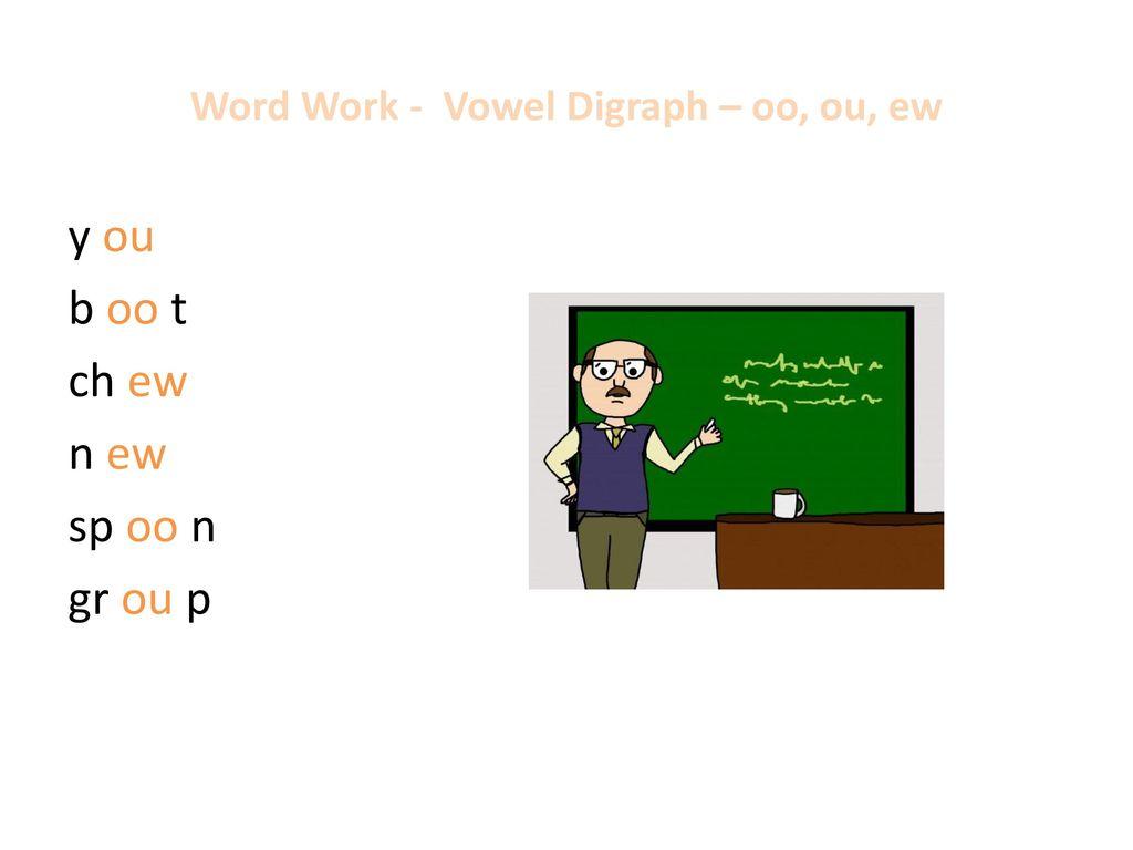 Ew oo word work t