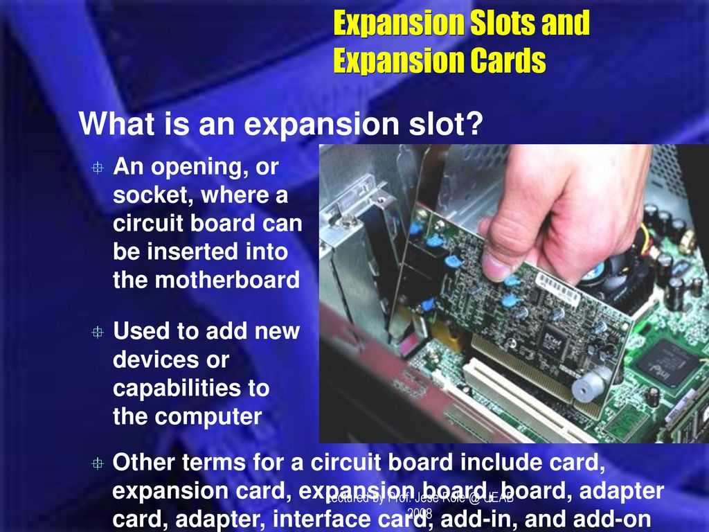 Lectured By Prof Jese Ueab Ppt Download What Is A Circuit Board Used For 26 Expansion