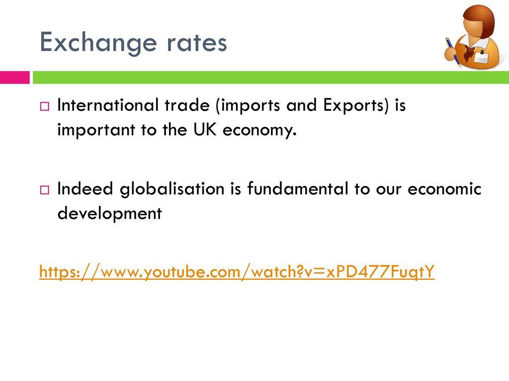 importance of international trade to the uk economy