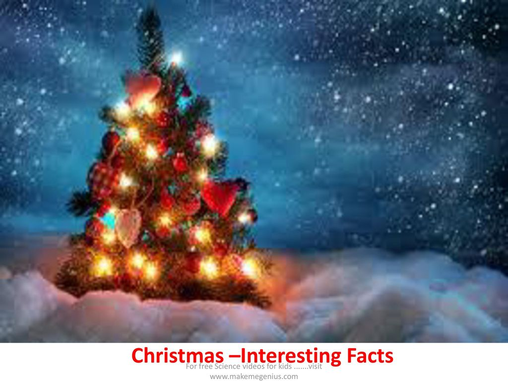 Christmas –Interesting Facts - ppt download