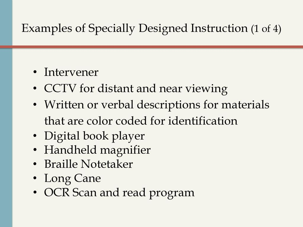 Educational Considerations For Students With Usher Syndrome Ppt Download
