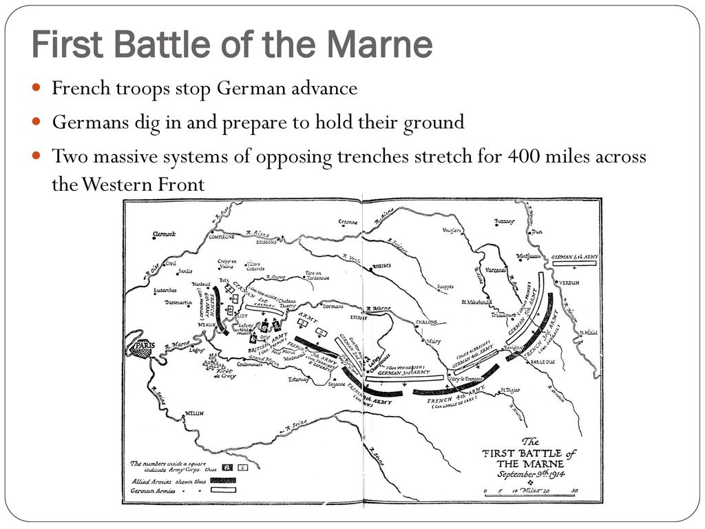 Trench Warfare In World War I Ppt Download Wwi Diagram 5 First