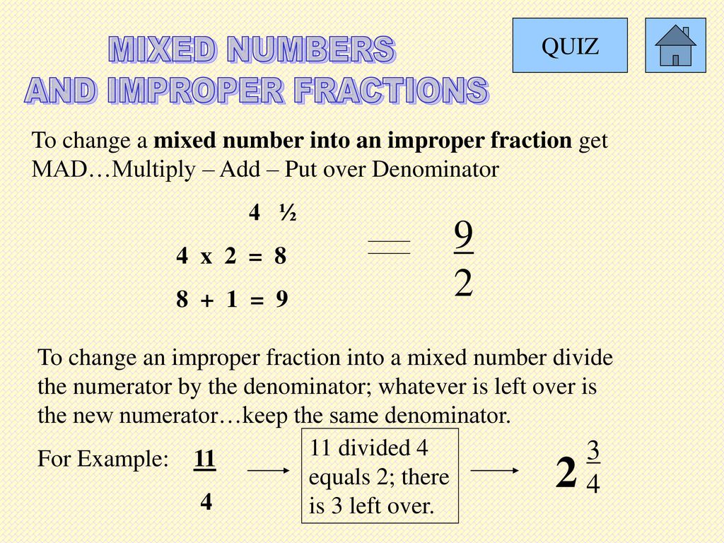 adding and subtracting fractions - ppt download