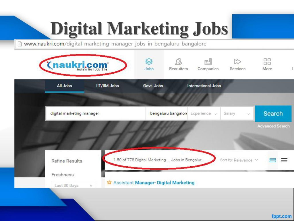 Scope of Digital Marketing as a Career - ppt download