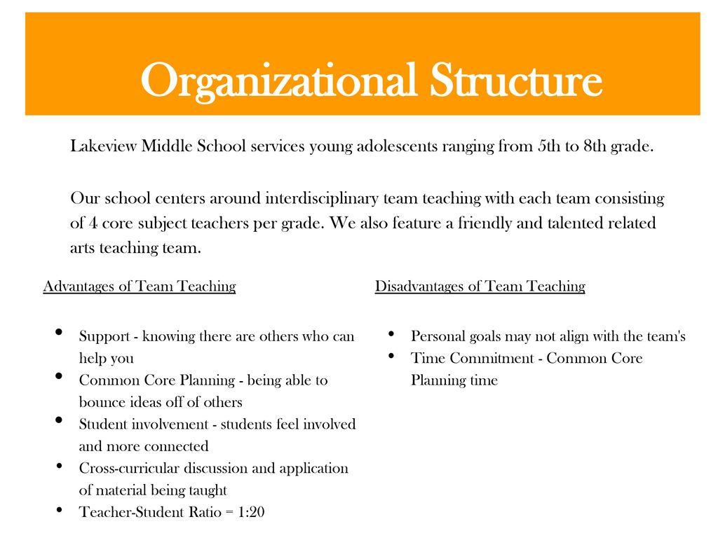 advantages of team teaching