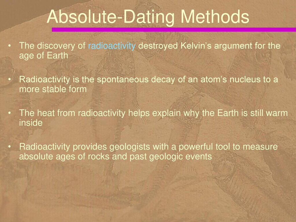 Earth age dating methods not accurate