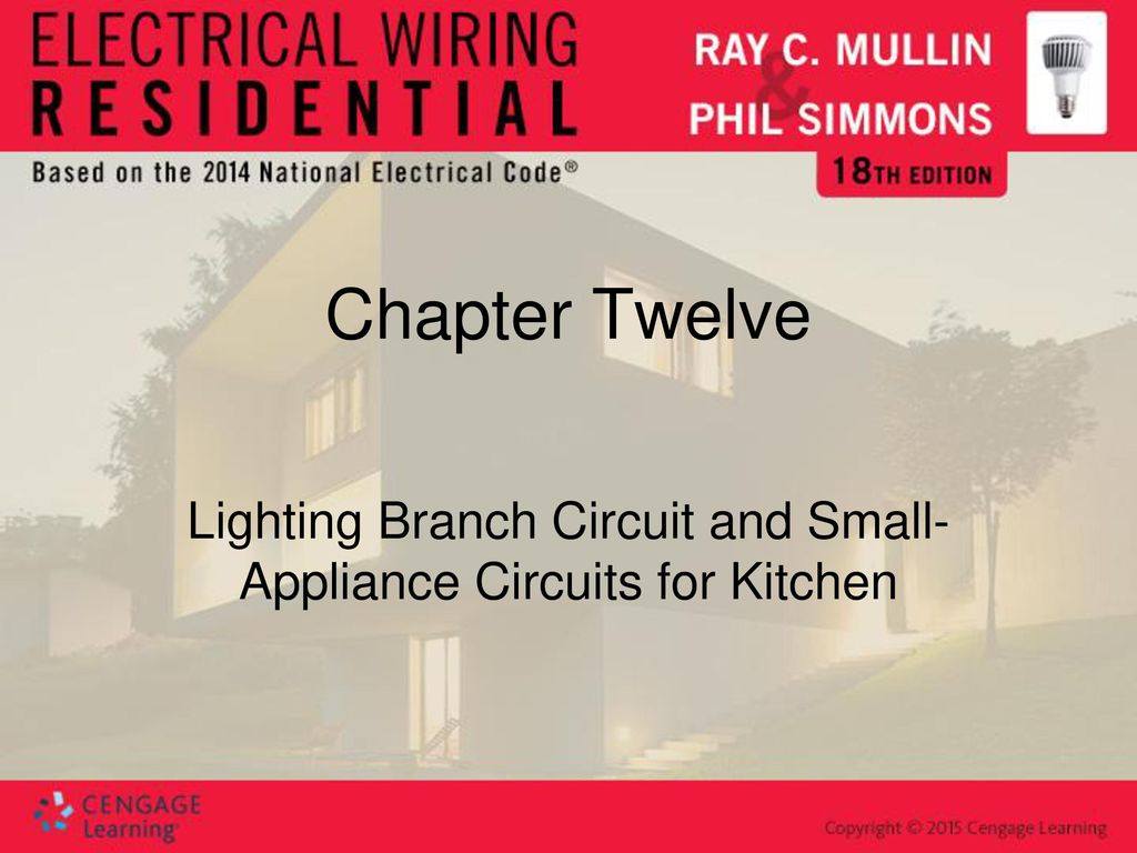 Lighting Branch Circuit and Small-Appliance Circuits for Kitchen ...